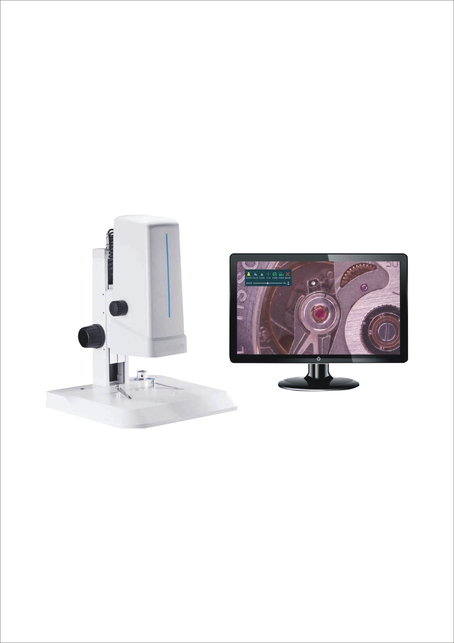 自动对焦视频显微镜